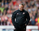 Chris Wilder manager of Sheffield Utd during the English League One match at  Bramall Lane Stadium, Sheffield. Picture date: April 30th 2017. Pic credit should read: Simon Bellis/Sportimage
