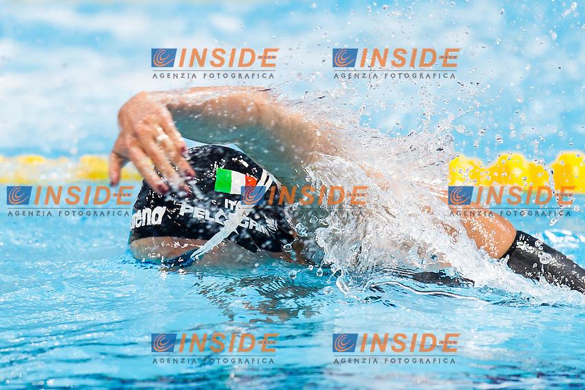 PELLEGRINI Federica ITA Team ITALY silver medal<br /> London, Queen Elizabeth II Olympic Park Pool <br /> LEN 2016 European Aquatics Elite Championships <br /> Swimming<br /> Mixed 4x100m medley final <br /> Day 09 17-05-2016<br /> Photo Giorgio Perottino/Deepbluemedia/Insidefoto