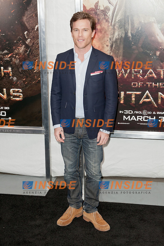 """Mike Doyle..Anteprima di """"La Furia dei Titani"""".. """"Wrath of the Titans""""..AMC Lincoln Square Theater..26/03/2012, New York..Foto Insidefoto / Marco Sagliocco....Only Italy"""
