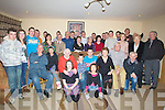 HOME: John Fitzgerald, Main Street, Castlegregory who celebrated his 21st Birthday in his home on Saturday night with family and friends.(John is 4th from right).................................. ....