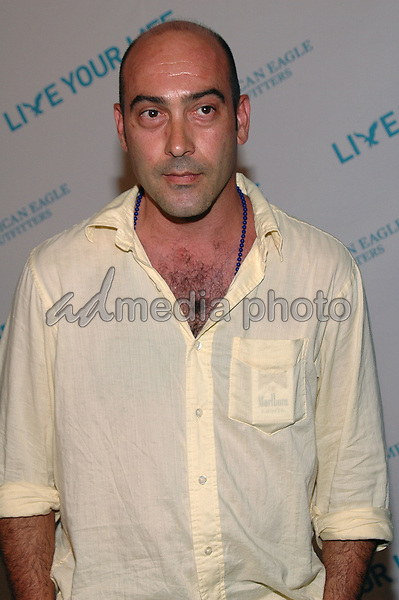 27 July 2005 - New York, New York - John Ventimiglia (The Sopranos) came out to celebrate American Eagle Outfitters' &quot;Live Yor Life Contest&quot; winners at the Union Square flagship store in Manhattan.  <br />