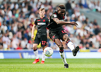Bolton Wanderers' Sammy Ameobi shoots at goal <br /> <br /> Photographer Andrew Kearns/CameraSport<br /> <br /> The EFL Sky Bet Championship - Blackburn Rovers v Bolton Wanderers - Monday 22nd April 2019 - Ewood Park - Blackburn<br /> <br /> World Copyright © 2019 CameraSport. All rights reserved. 43 Linden Ave. Countesthorpe. Leicester. England. LE8 5PG - Tel: +44 (0) 116 277 4147 - admin@camerasport.com - www.camerasport.com
