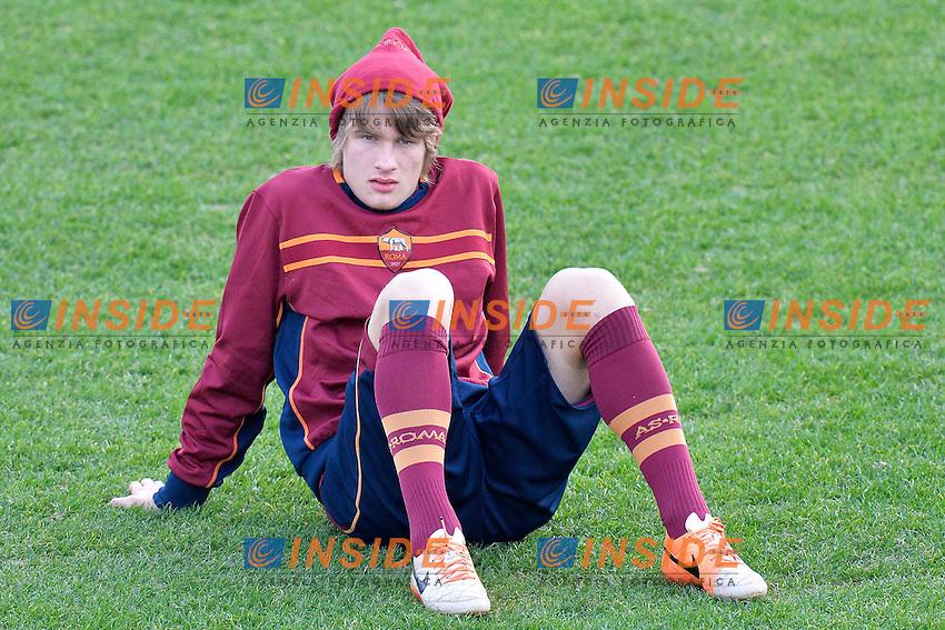 Tin Jedvaj Roma <br /> Roma 03-01-2014 Trigoria, As Roma training. Allenamento - Football Calcio Serie A 2013/2014  Foto Andrea Staccioli / Insidefoto