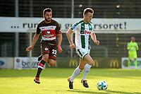 ROTINGHAUSEN - Voetbal, Sankt Pauli - FC Groningen, oefenduel, 01-09-2017, FC Groningen speler Todd Kane met Enver Cenk Sahin