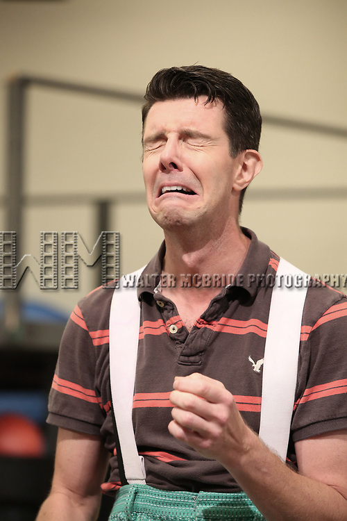 Gavin Lee during the Rehearsal Press Preview of the New Broadway  Musical on 'SpongeBob SquarePants'  on October 11, 2017 at the Duke 42nd Street Studios in New York City.