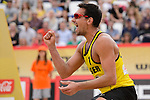 31.05.2015, Moskau, Vodny Stadion<br /> Moskau Grand Slam, Main Draw / Spiel Platz 3/4<br /> <br /> Jubel Jonathan Erdmann (#1 GER)<br /> <br />   Foto © nordphoto / Kurth