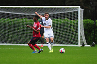 Brandon Cooper of Swansea City u23s' in action during the Premier League 2 Division Two match between Swansea City u23s and Middlesbrough u23s at Swansea City AFC Training Academy  in Swansea, Wales, UK. Monday 13 January 2020.