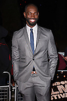 "Tarell McCraney<br /> at the London Film Festival premiere for ""Moonlight"" at the Embankment Gardens Cinema, London.<br /> <br /> <br /> ©Ash Knotek  D3163  06/10/2016"