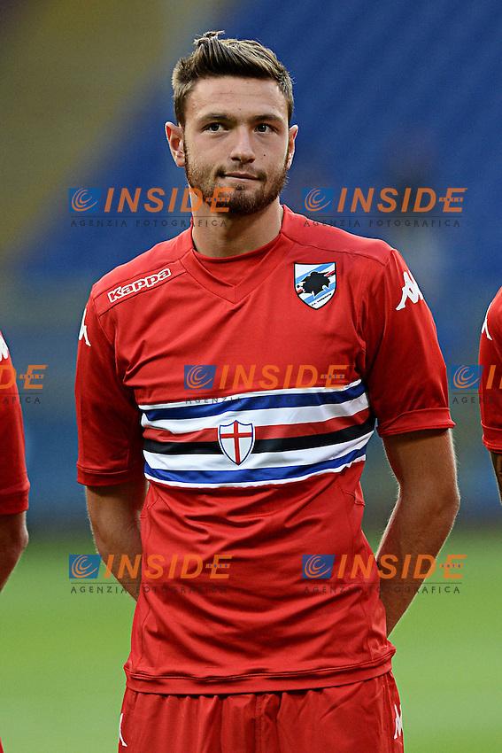 Luca Rizzo <br /> Genova 02-08-2014 Stadio Marassi <br /> Calcio 2014/2015 Sampdoria - Eintracht Francoforte <br /> Foto Matteo Gribaudi / Image/ Insidefoto