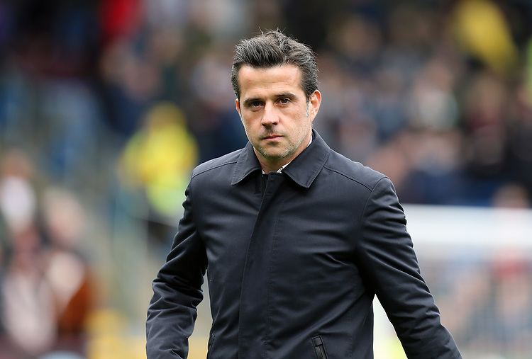 Everton manager Marco Silva <br /> <br /> Photographer Rich Linley/CameraSport<br /> <br /> The Premier League - Burnley v Everton - Saturday 5th October 2019 - Turf Moor - Burnley<br /> <br /> World Copyright © 2019 CameraSport. All rights reserved. 43 Linden Ave. Countesthorpe. Leicester. England. LE8 5PG - Tel: +44 (0) 116 277 4147 - admin@camerasport.com - www.camerasport.com