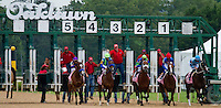 The gates open for the  Apple Blossom Stakes 4-13-12