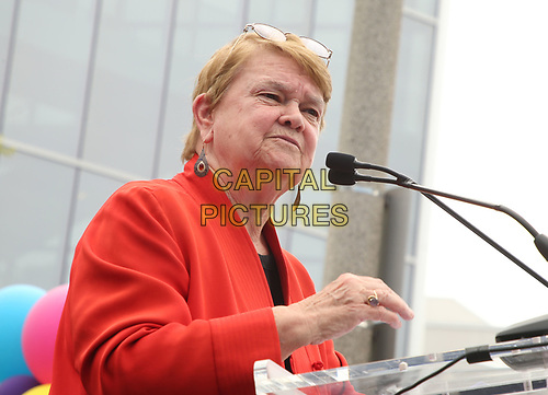 LOS ANGELES, CA -APRIL 7: Sheila Kuehl, at Grand Opening Of The Los Angeles LGBT Center's Anita May Rosenstein Campus at Anita May Rosenstein Campus in Los Angeles, California on April 7, 2019.<br /> CAP/MPIFS<br /> ©MPIFS/Capital Pictures