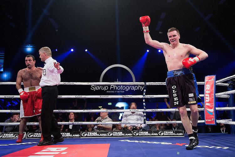 Fight Night Frederikshavn Alexander Hagen vs Roman Javoev