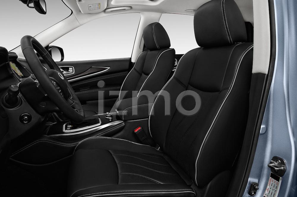 Front seat view of 2016 Infiniti QX60 - 5 Door Suv Front Seat  car photos