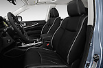 Front seat view of 2016 Infiniti QX60 - 5 Door Suv Front Seat  car photos