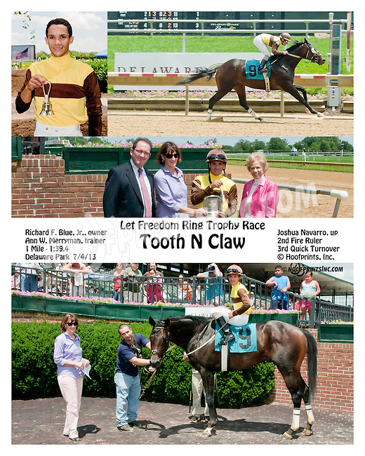 Buscara winning at Delaware Park on 8/25/12