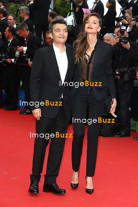 CPE/ Thomas Langmann and Celine Bosquet attend the 'Saint Laurent' premiere during the 67th Annual Cannes Film Festival on May 17, 2014 in Cannes, France.