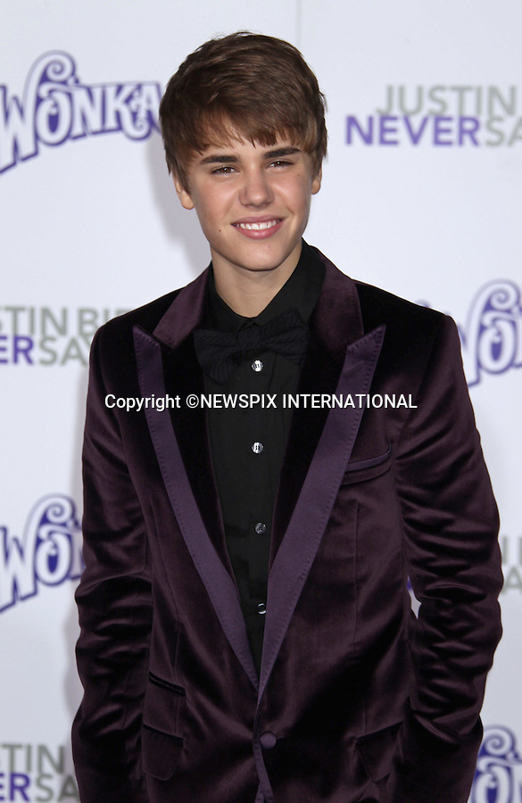 "JUSTIN BIEBER.at his ""Never Say Never"" World Premiere, Nokia Theatre, Los Angeles_08/02/2011.Mandatory Photo Credit: ©M.Philips_Newspix International..**ALL FEES PAYABLE TO: ""NEWSPIX INTERNATIONAL""**..PHOTO CREDIT MANDATORY!!: NEWSPIX INTERNATIONAL(Failure to credit will incur a surcharge of 100% of reproduction fees)..IMMEDIATE CONFIRMATION OF USAGE REQUIRED:.Newspix International, 31 Chinnery Hill, Bishop's Stortford, ENGLAND CM23 3PS.Tel:+441279 324672  ; Fax: +441279656877.Mobile:  0777568 1153.e-mail: info@newspixinternational.co.uk"