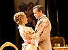 An Ideal Husband by Oscar Wilde<br /> at Festival Theatre Chichester, Great Britain <br /> 25th November 2014 <br /> <br /> directed by Rachel Kavanaugh <br /> <br /> <br /> Jemma Redgrave as Mrs Cheveley <br /> <br /> <br /> Jamie Glover as Lord Goring <br /> <br /> <br /> <br /> <br /> <br /> <br /> Photograph by Elliott Franks <br /> Image licensed to Elliott Franks Photography Services