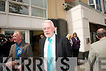 Martin Ferris arrives at the North Kerry Election Count Brandon Hotel 25th May.