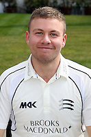 Adam Rossington - Middlesex County Cricket Club Press Day at Lords Cricket Ground, London - 08/04/13 - MANDATORY CREDIT: Rob Newell/TGSPHOTO - Self billing applies where appropriate - 0845 094 6026 - contact@tgsphoto.co.uk - NO UNPAID USE.