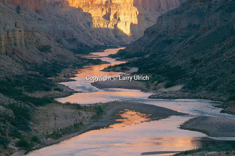 Colorado River,  Marble Canyon<br />   below Nankoweap Canyon<br /> Grand Canyon National Park<br /> Colorado Plateau,  Arizona