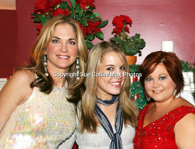 One Life To Live - Kassie DePaiva & Kristen Alderson & Kathy Brier - The Divas of Daytime TV performed a Christmas Show on December 5, 2009 at the Broadway Theatre in Pitman, New Jersey. (Photos by Sue Coflin/Max Photos)