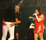 La diva de la banda Jenny Rivera durante un concierto en Leon Guanajuato, Mexico...(Tirador Segundo/NortePhoto)
