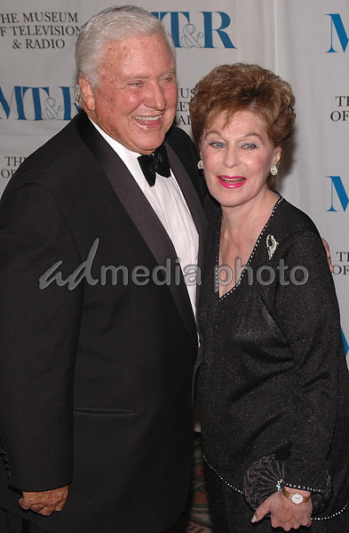 26 May 2005 - New York, New York - Merv Griffin and Roberta Peters arrive at The Museum of Television and Radio's Annual Gala where Merv is being honored for his award winning career in radio and television.<br />Photo Credit: Patti Ouderkirk