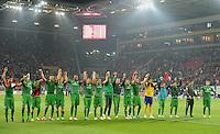 FUSSBALL   1. BUNDESLIGA  SAISON 2011/2012   11. Spieltag   29.10.2011 1.FSV Mainz 05 - SV Werder Bremen SCHLUSSJUBEL SV Werder Bremen, LAOLA