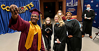 Jefferson County Public Schools broadcasts Doss High School's Virtual Graduation 2020 during the COVID-19 pandemic. <br /> <br /> Student speaker Kobe Guy.