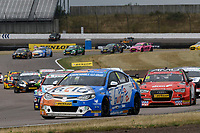 #6 Rory Butcher AmDTuning.com with AutoAid/RCIB Insurance Racing MG6 GT during BTCC Race 2  as part of the Dunlop MSA British Touring Car Championship - Rockingham 2018 at Rockingham, Corby, Northamptonshire, United Kingdom. August 12 2018. World Copyright Peter Taylor/PSP. Copy of publication required for printed pictures.