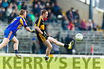 Colm Cooper Dr Crokes in action against Kevin O'Sullivan Kenmare District in the Senior County Football Championship final at Fitzgerald Stadium on Sunday.