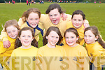 Clodagh Carey, Courtney Herlihy, Nicole Broderick. Back row: Lauren Barrett, Aileen Twomey, Aislinn O'Brien, Sinead and Roisin Brosnan all Tralee enjoying themselves at the South West Girl Guides annual fun day in Killarney Community college on Saturday     Copyright Kerry's Eye 2008