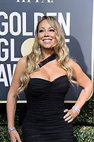 Mariah Carey arrives at the 75th Annual Golden Globe Awards at the Beverly Hilton in Beverly Hills, CA on Sunday, January 7, 2018.<br /> *Editorial Use Only*<br /> CAP/PLF/HFPA<br /> &copy;HFPA/PLF/Capital Pictures
