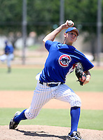 Toby Matchulat / AZL Cubs..Photo by:  Bill Mitchell/Four Seam Images