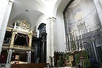 Una veduta interna del Duomo di Torino, con la Cappella della Sacra Sindone sulla sinistra.<br /> An interior view of the Cathedral of Turin, with the Chapel of the Holy Shroud at left.<br /> UPDATE IMAGES PRESS/Riccardo De Luca