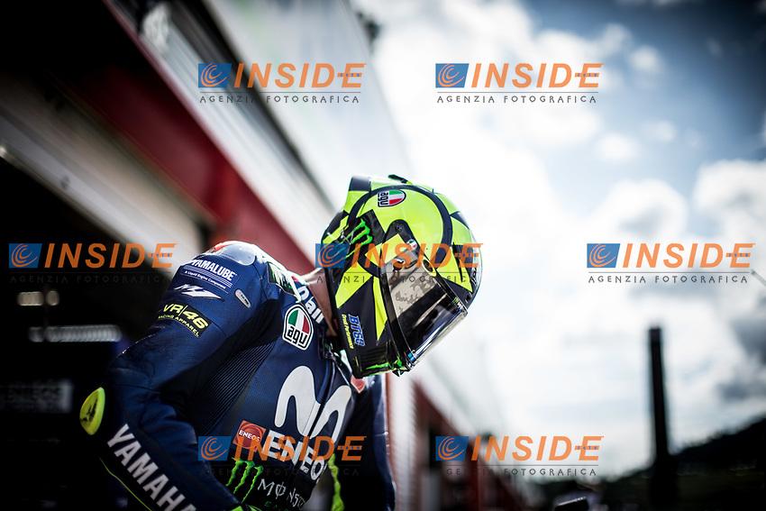 VALENTINO ROSSI - ITALIAN - MOVISTAR YAMAHA MotoGP - YAMAHA<br /> Motegi 20-10-2018 <br /> Moto Gp Giappone<br /> Foto Vincent Guignet / Panoramic / Insidefoto