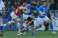 Martin Castrogiovanni (Italia)<br /> Italia vs Galles<br /> RBS 6 Nations Rugby Championship 2011<br /> Stadio Flaminio;<br /> Roma, 26/02/2011<br /> Photo Antonietta Baldassarre Insidefoto