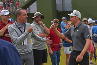 Andrew Wise (USA) makes his way to the first tee before  round 4 of the AT&T Byron Nelson, Trinity Forest Golf Club, at Dallas, Texas, USA. 5/20/2018.<br /> Picture: Golffile | Ken Murray<br /> <br /> All photo usage must carry mandatory copyright credit (© Golffile | Ken Murray)