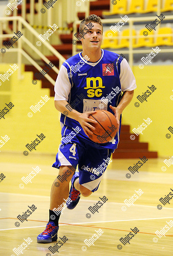 2011-08-13 / Basketbal / seizoen 2011-2012 / Sint-Jan / Vinnie Haerbos..Foto: Mpics