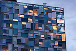 Jean Nouvel's 100 11th Avenue and Frank Gehry's IAC Building located in the Chelsea neighborhood of NYC.