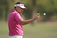 Ian Poulter (ENG) in action during the second round of the Omega Dubai Desert Classic, Emirates Golf Club, Dubai, UAE. 25/01/2019<br /> Picture: Golffile | Phil Inglis<br /> <br /> <br /> All photo usage must carry mandatory copyright credit (© Golffile | Phil Inglis)