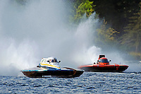"Mario Maraldo, GP-59 ""Baby Doll III and Joe Sovie, GP-79 ""Bad Influence"" (Grand Prix Hydroplane(s)"