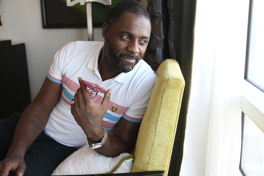 Actor Idris Elba photographed during a phone interview at a private suite in Las Vegas on Friday, Nov 8, 2013. Soul Brother for Toyota Avalon