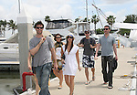 As The World Turns' Austin Peck - Alexandra Chando - Tom Pelphrey - 12th Annual SoapFest - Actors take a break on the Ramblin' Rose with Ken as the captain on May 15, 2010 on Marco Island, FLA. (Photo by Sue Coflin/Max Photos)