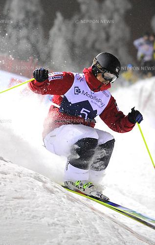 Sho Endo (JPN), DECEMBER 13, 2014 - Freestyle Skiing : Sho Endo of Japan competes during the FIS Freestyle Skiing World Cup Men's Dual Moguls in Ruka, Kuusamo Finland. (Photo by Hiroyuki Sato/AFLO)
