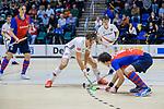 ROTTERDAM  - NK Zaalhockey . finale heren: SCHC-Amsterdam (2-2, SCHC wint shoot-outs) .Boris Burkhardt (Adam)  .  COPYRIGHT KOEN SUYK