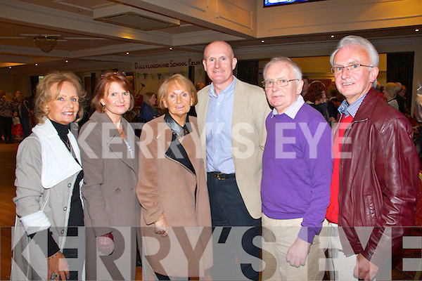 Pictured at the Balyloughane School Reunion on sunday held at the Devon Inn were L-R : Magaret Moran of Limerick, Breda Geary of Blackwater Co. Clare, Kathleen O'Connor of Limerick, Vincent McCoy of Croagh, Jimmy McCoy of Newcastlewest and Gerard McCoy of Newcastlewest. <br /> <br /> They are all members of the same family and attended the school all around the same time.
