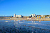 Stock photo of Santa Monica California